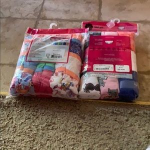 Total Girl and Hanes Accessories - 2 brand new packs of girls underwear size 16